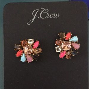 J.Crew multicolored jewel earnings